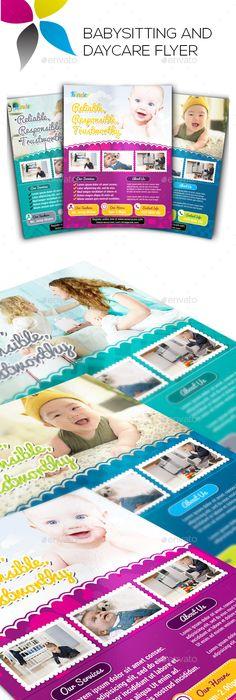 ChildCareAndDropOffDaycareFlyerTemplate  Design