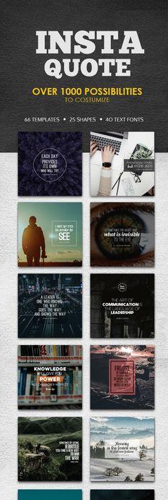 Venutian - 12 Instagram Stories Font logo and Template