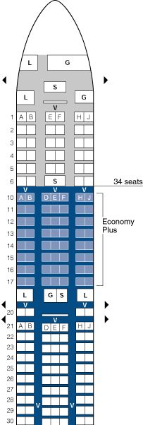 Most Design Ideas United Boeing 737 700 Seating Chart Pictures And