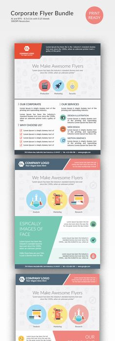 Social Media Marketing Flyers  Flyer Templates On Creative Market