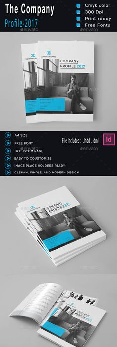 Company Profile Brochure  Pages A  Company Profile Brochures
