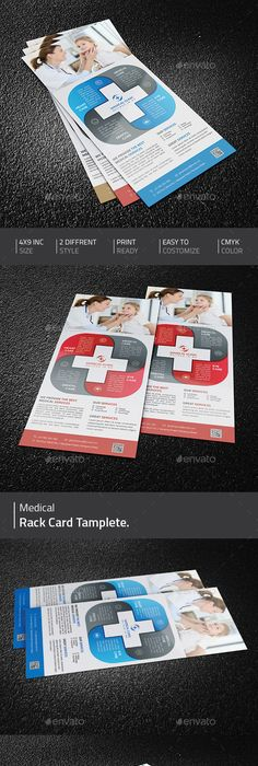 Restaurant Rackcard Template  Restaurant FlyersDownload Here