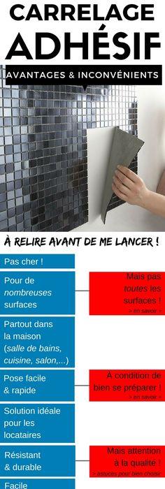 La Liste des Boutiques pour Acheter du Carrelage Adhésif en Ligne - pose carrelage mural salle de bain