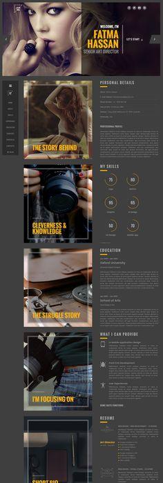 Jaso  Creative Personal CvResume Portfolio Html Template