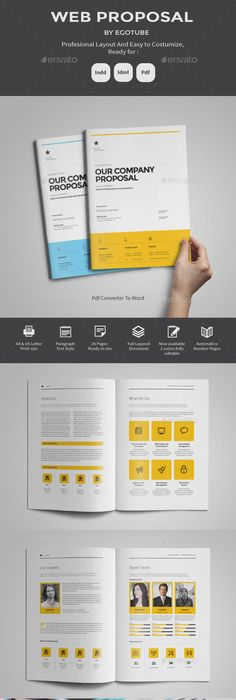 Corporate E-book Proposal Proposal templates, Cleaning companies - web design proposal template