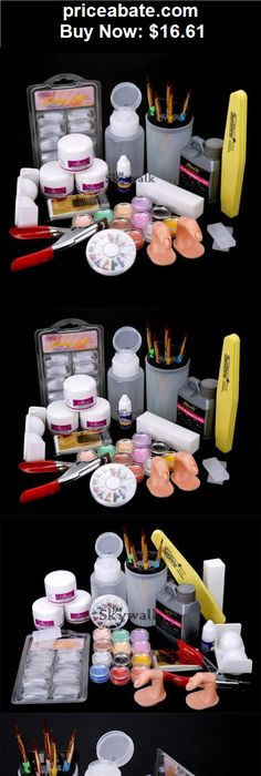 The best step by step guide on how to do acrylic nails at home nails nail art set acrylic liquid glitter powder file brush form tips tools diy kit solutioingenieria Images