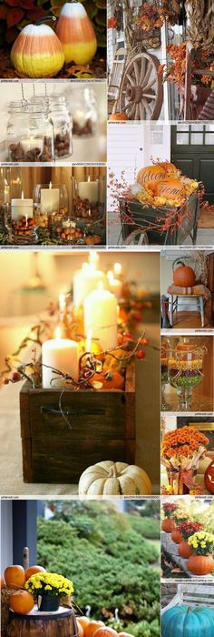 Our Favorite Fall Decorating Ideas Hgtv, Pumpkin wreath and - halloween decorations indoor ideas
