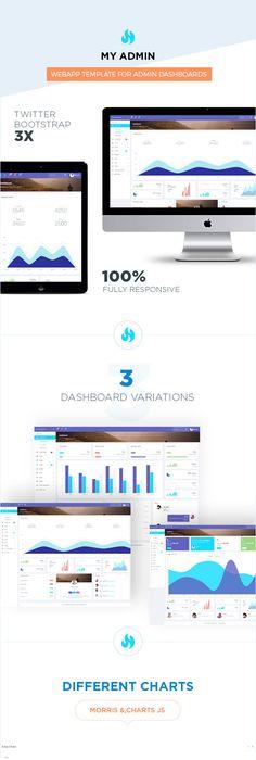 Bootstrap 4 Admin Dashboard Admin Pinterest Dashboard template - free spreadsheet templates