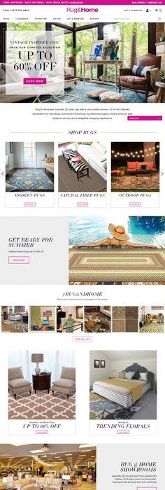 Spencers | eCommerce Website Design | Pinterest | Ecommerce website ...