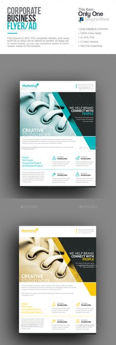 Corporate Flyer  Flyer Template Template And Brochures