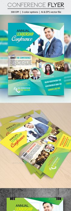 Urban Leadership Conference Church Flyer Template  Flyer Template