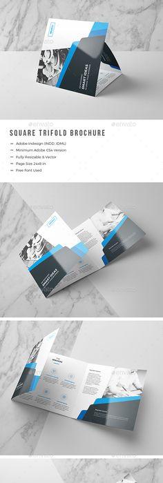 Trifold Brochure Brochures Brochure Template And Corporate Brochure