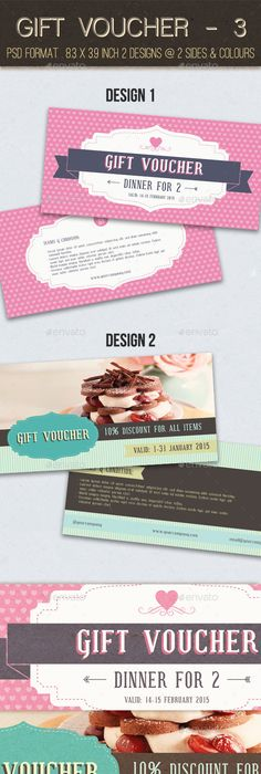 Gift Voucher Format Pleasing Fashion Gift Voucher Templatev01  Template Font Logo And Brand Design