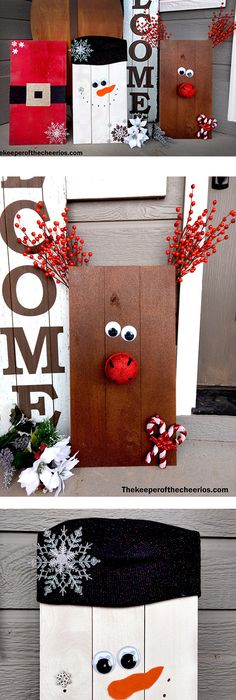 snowman on barn wood snimply snowman pinterest. Black Bedroom Furniture Sets. Home Design Ideas