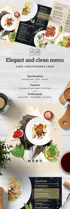 Photo  Design For Restaurant Menu Cafe Delmar Still Life For