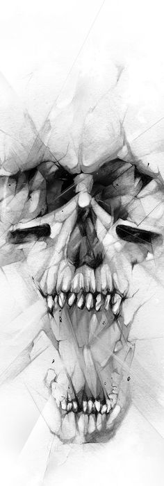 Alexis Marcou - Just Do It - Skull