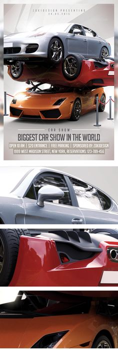 Classic Car Show Flyer  Cars Flyer Template And Print Templates