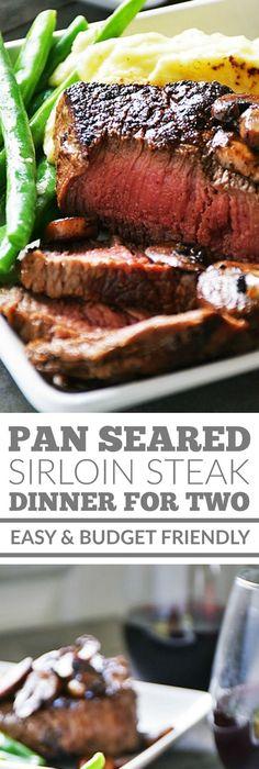 pan seared steak with balsamic herb cream sauce recipe top