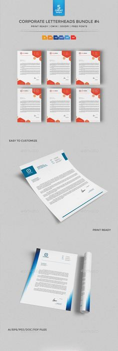 Business Letter Head Templates Simple Letter Head  Letterhead