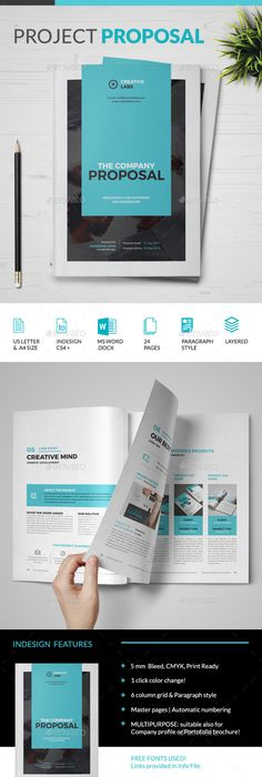 Clean Modern Corporate Website Design Proposal  Proposals