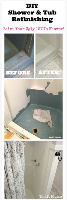 How to replace black moldy caulk and clean a tile shower. Ugh ...