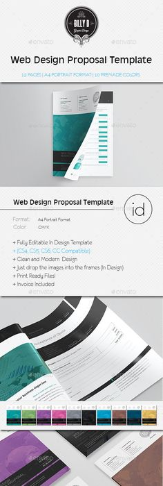 Proposal Template  Volume   Proposal Templates Proposals And
