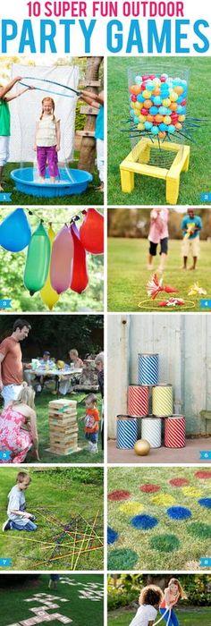 Incroyable 10 Super Fun Outdoor Party Games