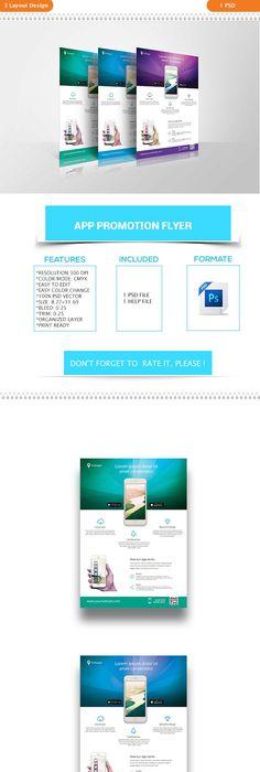 Modern WebApp Design Agency FlyerPoster  Posters  Flyers