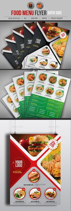 Catering Flyer Template  Publisher Flyers    Flyer