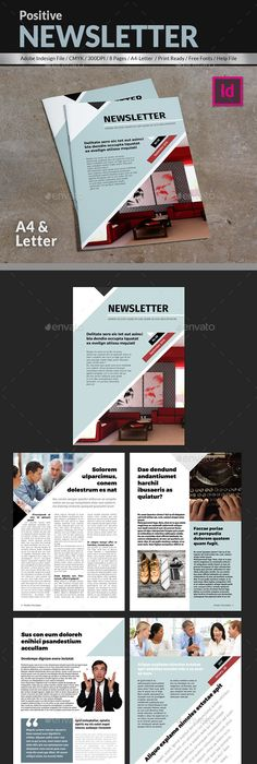 Pages Corporate Newsletter  Newsletter Templates Template And