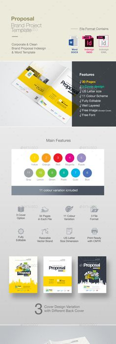 Proposal Template  Proposals  Invoices Stationery Download Here