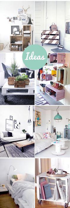 Pin by Julyana Amorim on Home Office Pinterest Bedrooms - muebles diy