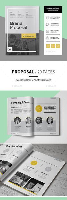 Proposal Template Proposal Templates Proposals And Template