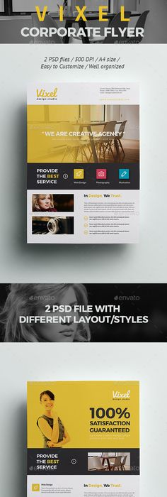 Free Professional Corporate Flyer Psd Template  Free Stuff