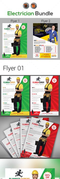 Handyman Flyer Templates  Flyer Template Template And Flyer Printing