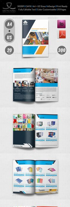 Supermarket Catalog Brochure Template Vol   Pages  Brochure