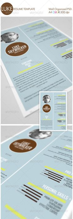 Minimal Resume for Her & Him + Cover letter | Print templates ...