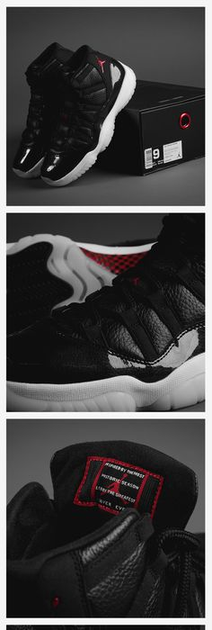 The highlight from Jordan Brand's 30th Anniversary Remastered Collection:  Air Jordan XI 72-10