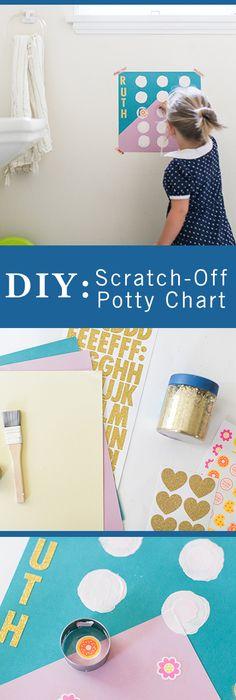 Potty Training Chart reward by SallySuesShop on Etsy | ABA ...