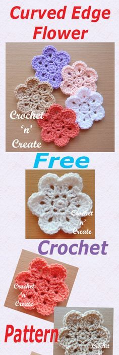 22 Free Crochet Flower Patterns | Free crochet flower patterns ...
