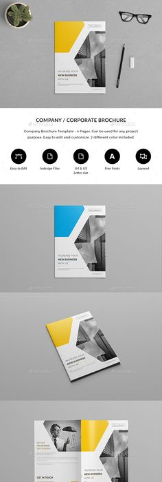 Creative Examples Of TriFold Brochure Designs Brochures - 4 page brochure template
