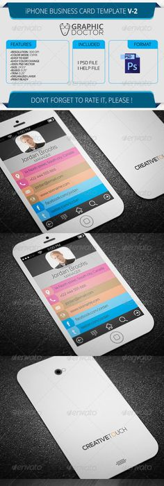 Pin by allectio gr on iphone business card pinterest business cards wajeb Images