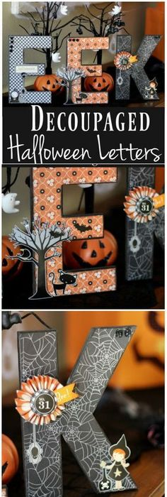Stop buying overpriced halloween decorations and make your own for - fun homemade halloween decorations