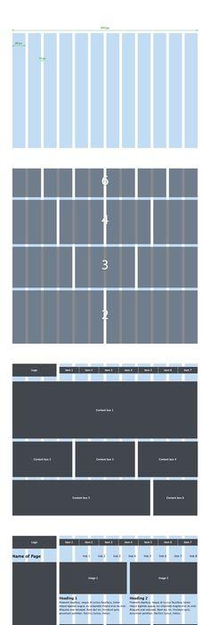 iPhone 5 Grid Ios design, Mobile app ui and Mobile app - fresh blueprint apple configurator
