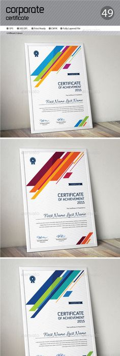 Multipurpose Certificates | Certificate, Template and Certificate design