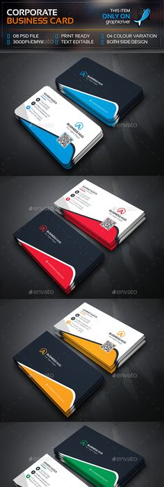 Creative corporate business card corporate business business creative corporate business card corporate business business cards and card templates reheart Gallery