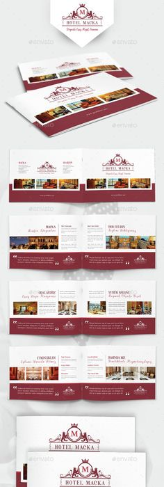 Unique Hotel Brochure Template Bonus Flyer Hotel Brochure - Hotel brochure template