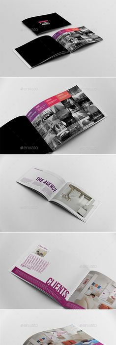 A5 Booklet / Catalogue Corporate brochure, Brochures and Brochure - fashion design brochure template