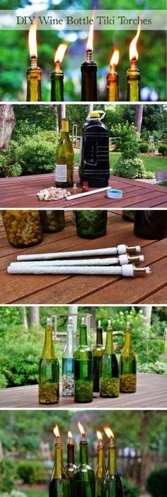 1 | DIY Wine Bottle Tiki Torch Redeem Your