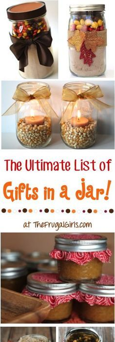 20 best mason jar gifts gift ideas diy presents for hoidays so if youre looking to create some inexpensive christmas decor or gifts check out these 10 festive christmas mason jar crafts for inspiration solutioingenieria Images